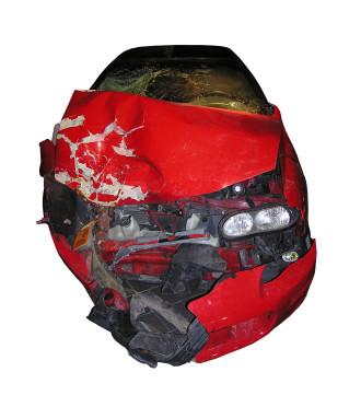 passenger car crash injury